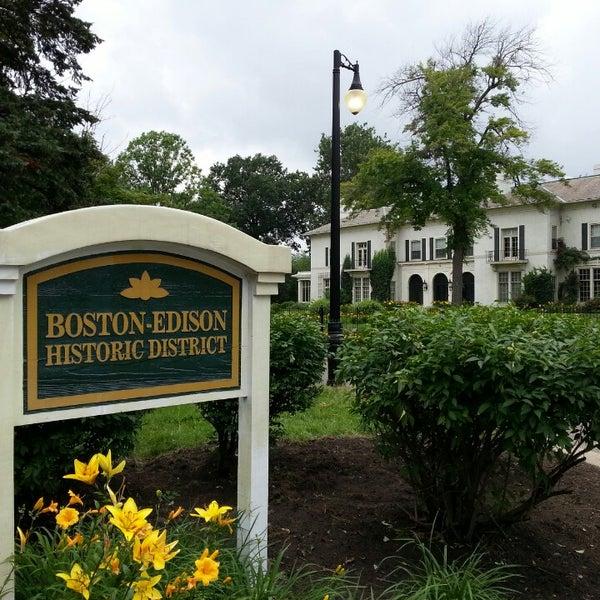 Photo taken at Boston-Edison Historic District by Kate H. on 7/7/2013