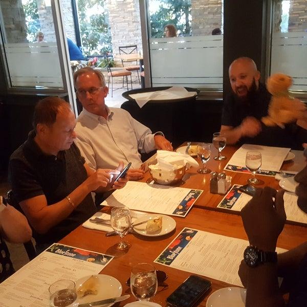 Photo taken at Bluestone Restaurant by Joan on 8/1/2017