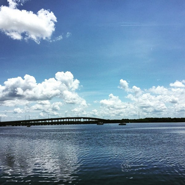 Photo taken at Palatka Riverfront by Ted J B. on 6/26/2015