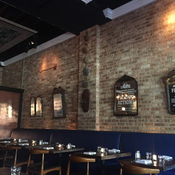 Kinmont now closed river north chicago il for Table 52 chicago reviews