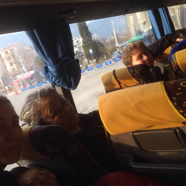 Photo taken at Autobusna stanica by Mehmet Ali T. on 1/30/2016