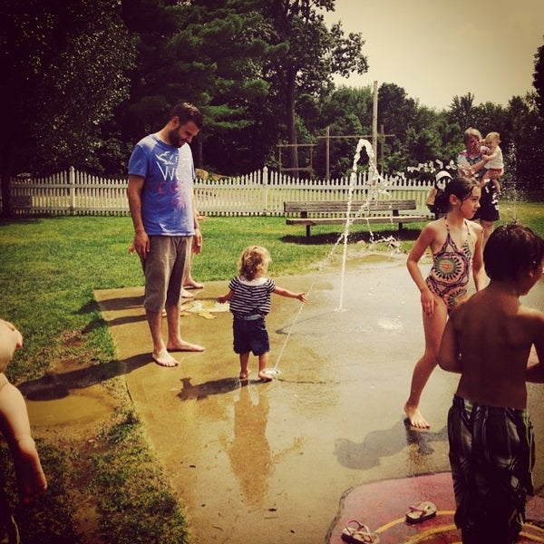 Photo taken at Schouler Park by Sarah W. on 7/23/2014