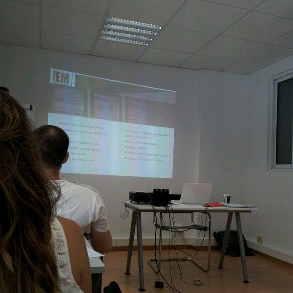 Foto tomada en IEM Business School por Lorena el 5/22/2014