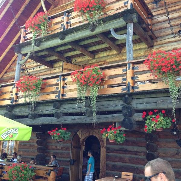 Photo taken at Karczma Ochodzita by Cselenyi J. on 8/18/2013