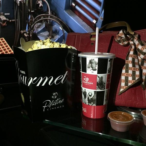 Photo taken at Cinemex by Jenny C. on 1/10/2016