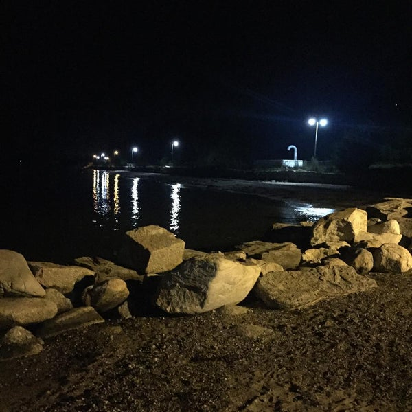 Photo taken at East End Beach by Steve K. on 8/15/2015