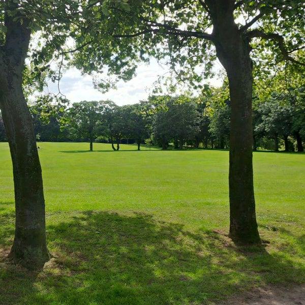 Photo taken at Hall Garth Park by Craig B. on 7/5/2014