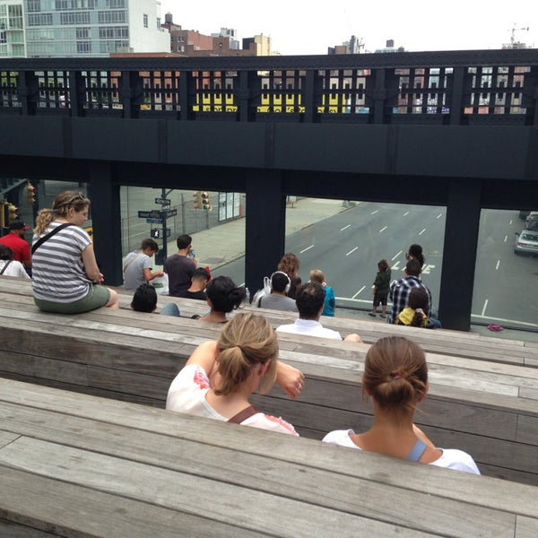 Photo taken at High Line 10th Ave Amphitheatre by Jason C. on 7/28/2013