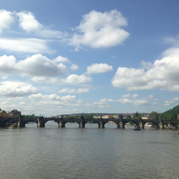 Photo taken at Charles Bridge by Thunyanut S. on 5/28/2013