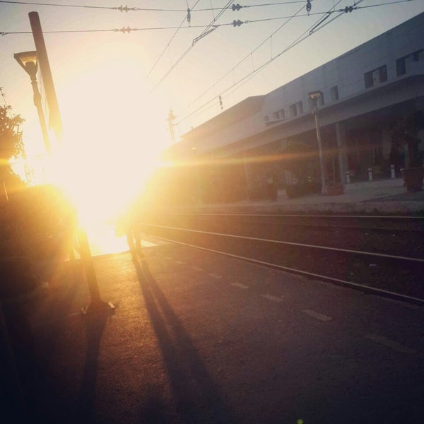 Photo taken at Gare de Mohammédia  محطة المحمدية by Mouad I. on 12/26/2014