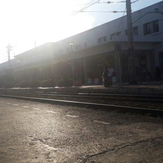 Photo taken at Gare de Mohammédia  محطة المحمدية by Mouad I. on 3/11/2015