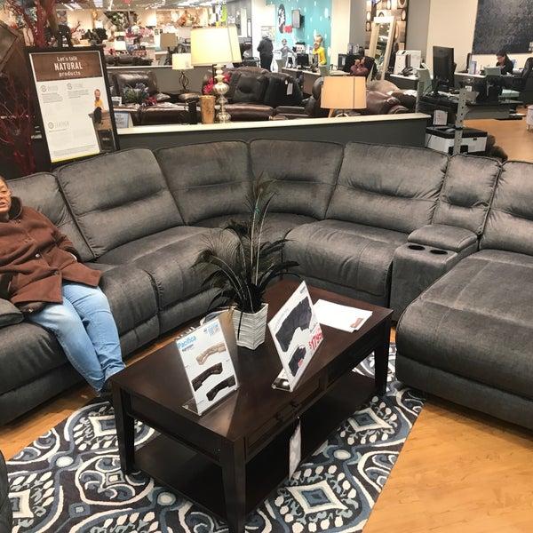 Photo Taken At Bobu0026#39;s Discount Furniture By Bennie F. On 12