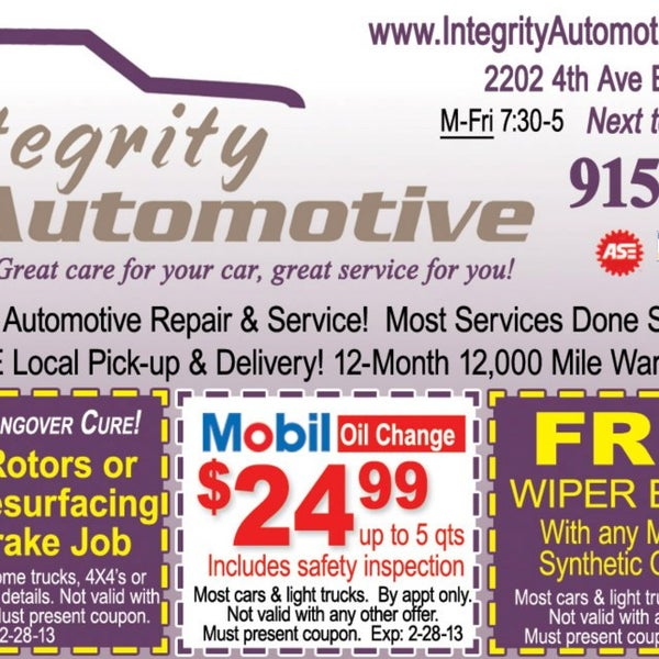oil change coupons olympia wa coupon code for compact