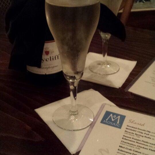 Photo taken at MOSAIC Restaurant Charleston by Chloe M. on 3/9/2014