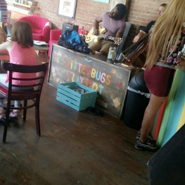 Photo taken at PLG Coffee House and Tavern by Barbie L. on 9/6/2014