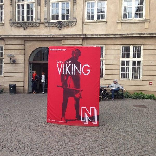 Photo taken at National Museum of Denmark by Ilja Aleksandar P. on 10/15/2013