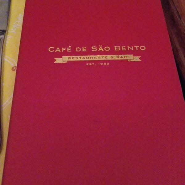 Снимок сделан в Café de São Bento пользователем Marco D. 7/19/2018