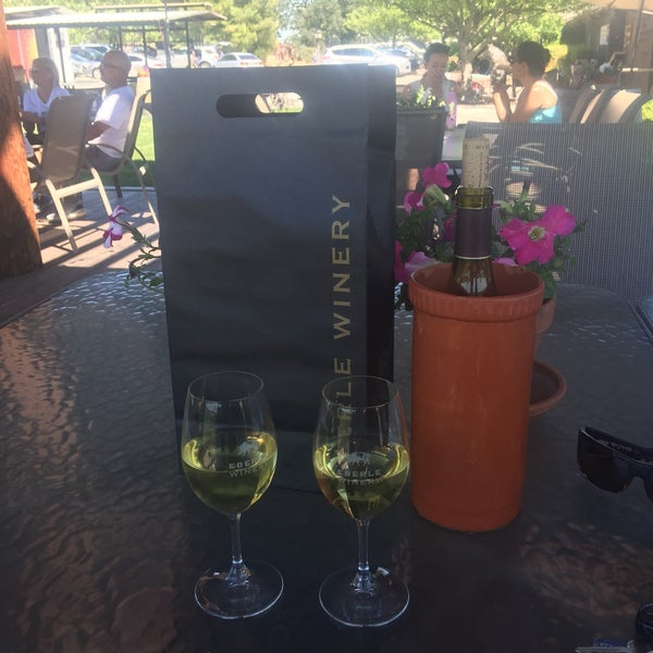 Photo taken at Eberle Winery by Sol on 6/18/2017