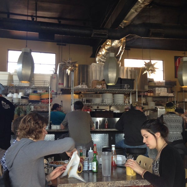 Photo taken at Eggs In the City by Becky J. on 1/25/2014