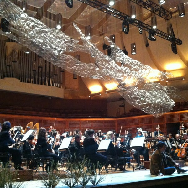 Photo taken at Louise M. Davies Symphony Hall by Pilar D. on 1/18/2013