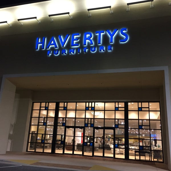 Photo taken at Havertys Furniture by Jonas F  on 4 27 2016. Photos at Havertys Furniture   Winter Garden Village at Fowler