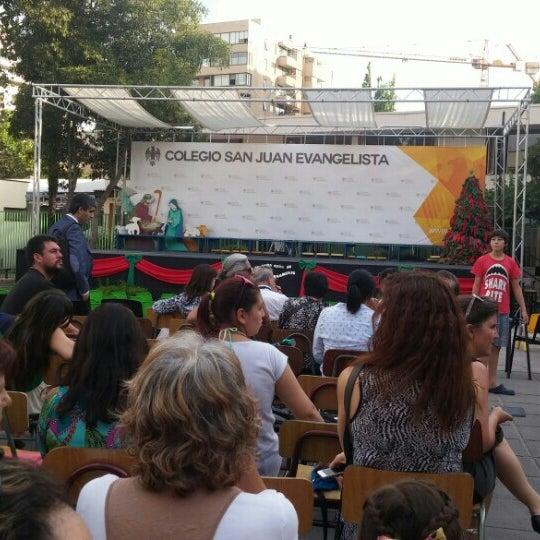 Foto tomada en Colegio San Juan Evangelista por Ignacio L. el 12/15/2015