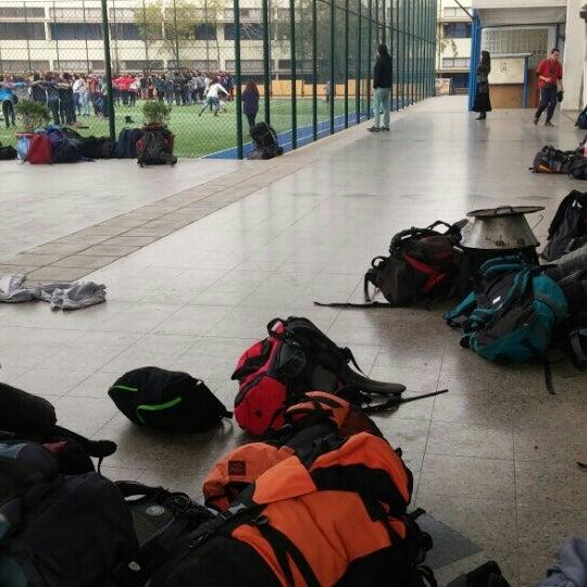 Foto tomada en Colegio San Juan Evangelista por Ignacio L. el 8/23/2015