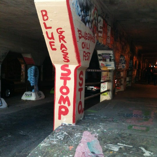 Photo taken at Krog Street Tunnel by Chris A. on 11/3/2012