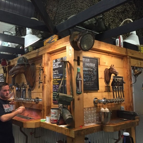 Photo taken at War Horse Brewery by David B. on 9/24/2016