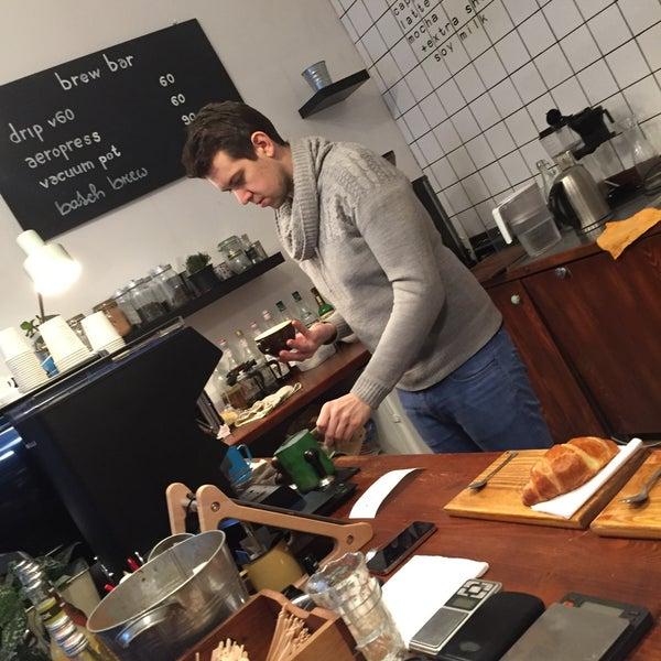 Photo taken at coffee room. by Honza N. on 1/13/2016