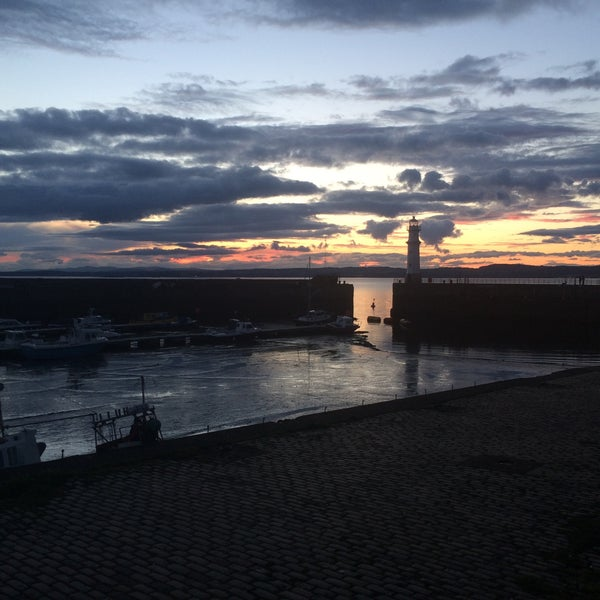 Photo taken at Newhaven Harbour by Tati L. on 5/21/2016