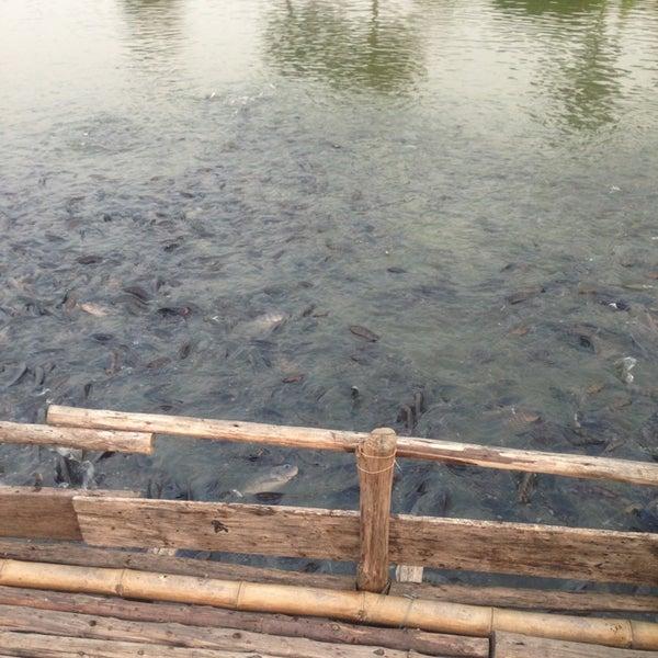 Photo taken at สวนวนธรรม by pond p. on 2/5/2013