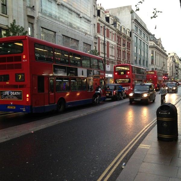 Photo taken at Oxford Street by Ugur on 9/20/2013