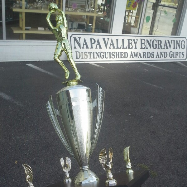 Photo taken at Napa Valley Engraving by Coach B. on 4/21/2015