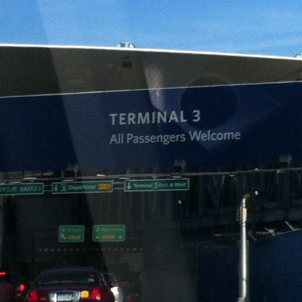 Photo taken at Terminal 3 by Matt H. on 4/14/2013