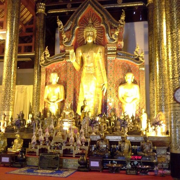 Photo taken at Wat Chedi Luang Varavihara by Krongthong H. on 6/27/2013
