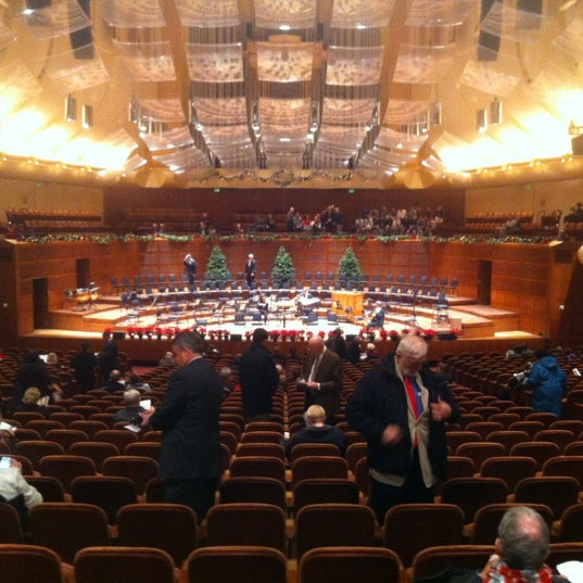 Photo taken at Louise M. Davies Symphony Hall by Christopher S. on 12/16/2012