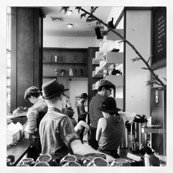 Photo taken at Stumptown Coffee Roasters by Vijay M. on 4/26/2013