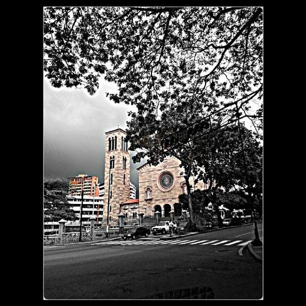 Photo taken at Iglesia Nuestra Señora De La Chiquinquira by Mafe Z. on 9/26/2013
