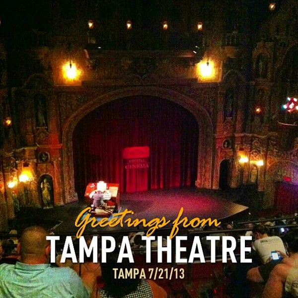Photo taken at Tampa Theatre by James Y. on 7/21/2013