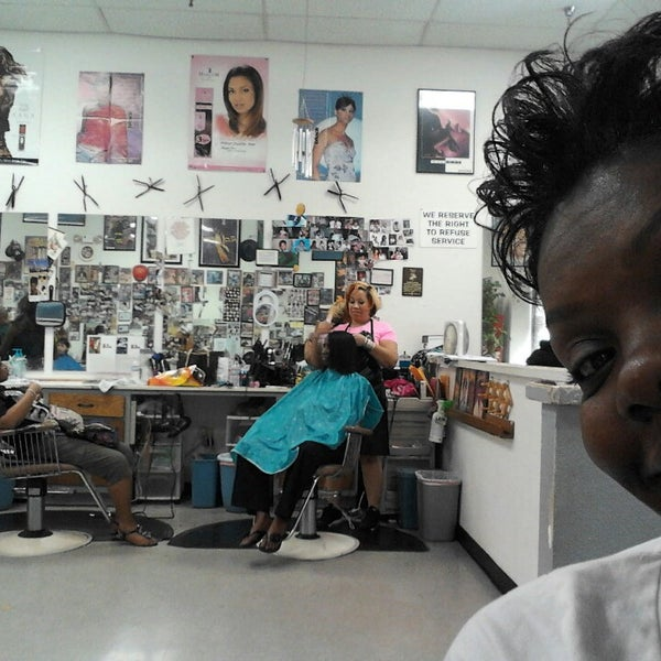 Photo taken at Fields Good Barber And Beauty Shop by Karlett D. on 3/22/2013