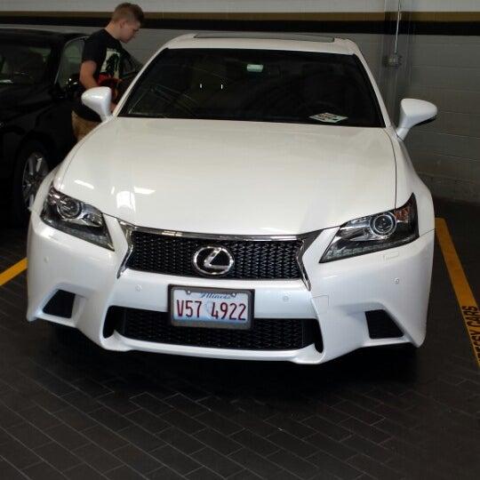 Photo Taken At McGrath Lexus Of Westmont By Pawel Z. On 7/15/