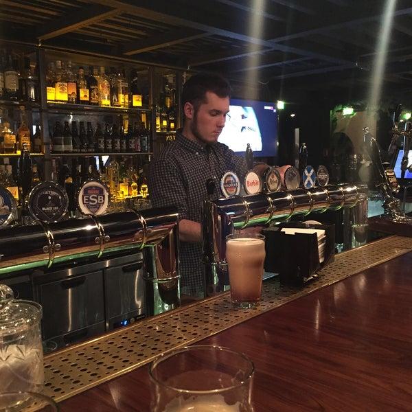 Photo taken at Haggis Pub & Kitchen by Элеонора Н. on 3/27/2015