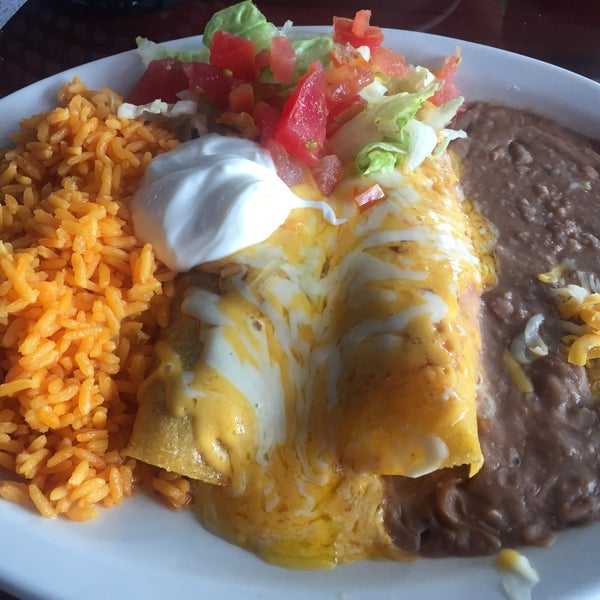 The enchiladas were some of the best I've ever had! Great service and a great atmosphere... Just passing through on our way home from vacation, but I hope we can eat here again next time we travel!