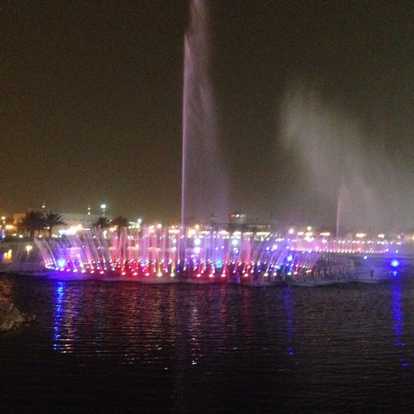 Photo taken at King Abdullah Park by Falcon U. on 6/3/2015