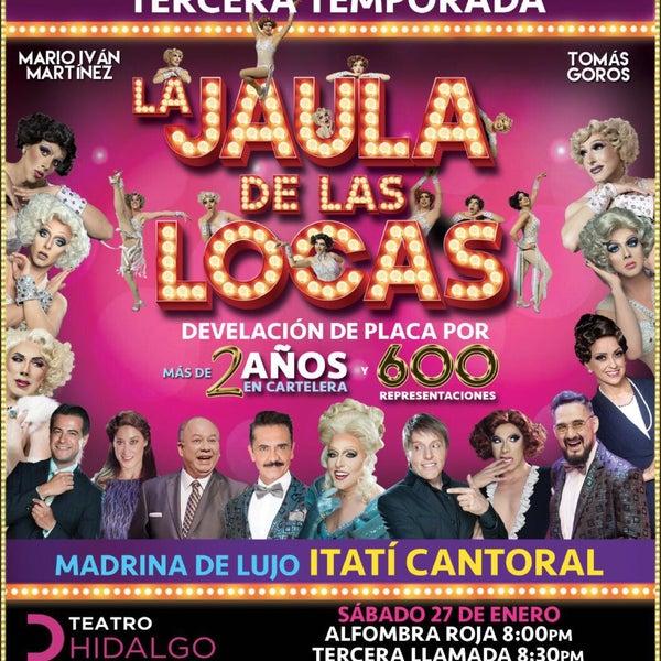 Foto tomada en Teatro Hidalgo por Carlos P. el 1/28/2018
