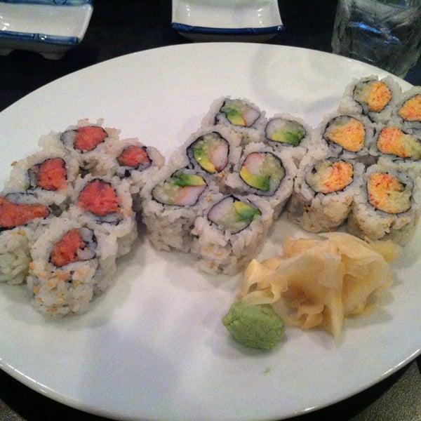 Photo taken at Sono Sushi by Mina C. on 8/10/2013