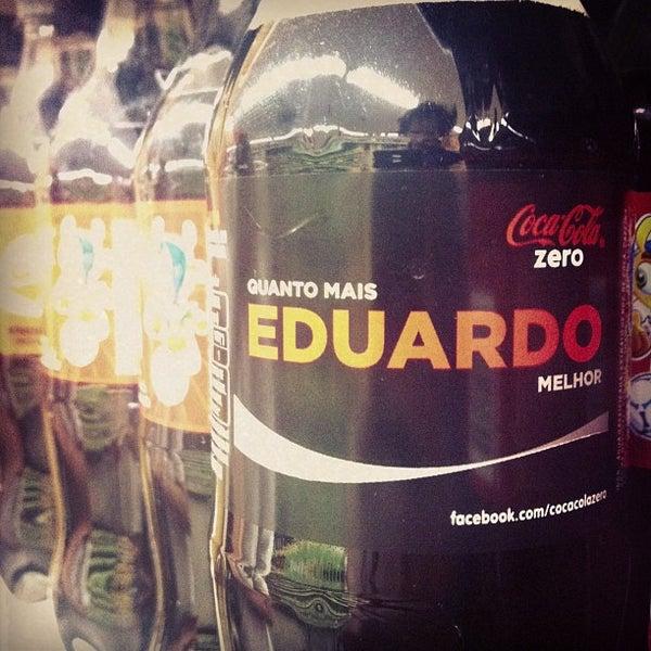 Photo taken at Supermercados Nazaré by Eduardo M. on 12/5/2012