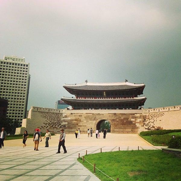 Photo taken at Sungnyemun by Yaejin L. on 6/29/2013