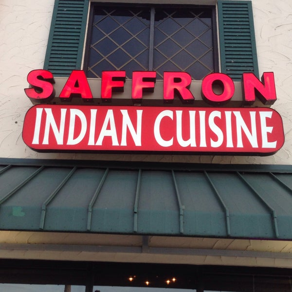 Photo taken at Saffron Indian Cuisine by Jerry G. on 1/13/2015